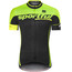 Sportful SC Team Jersey Men black/green fluo/yellow fluo